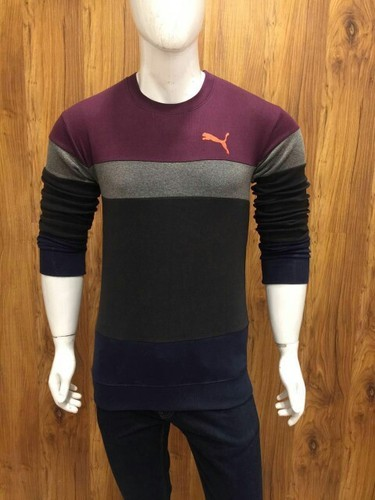 Puma Round Neck Full Sleeve T Shirt
