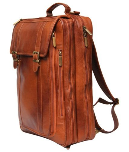 92bcbd1a1eb8 Genuine Leather Laptop Backpack In New Tan Color