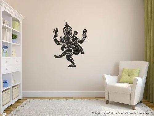 dancing ganesha wall decal at rs 249 | deewar sticker, वॉल