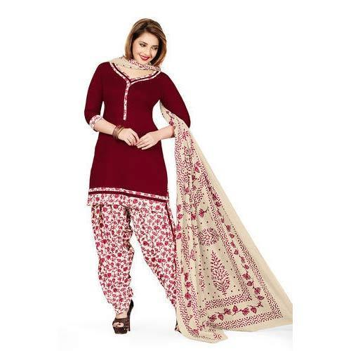Cotton Party Wear Ladies Designer Salwar Suit Rs 300 Piece Shree