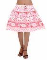 Pink Color Online Skirt