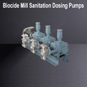 Biocide Mill Sanitation Dosing Pumps