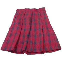 Ladies Pleated Short Skirt, Size: M and L