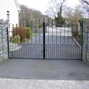 Black Curved Gates