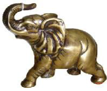 Elephant With Trunk Up Statue At Rs 875 00 Piece À¤¹ À¤¥ À¤• À¤® À¤° À¤¤ Roque Handicrafts Kannur Id 10987922455 Brown elephant illustration, african bush elephant, elephants, mammal, animals, fauna png. elephant with trunk up statue