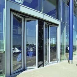 Aluminum Folding Door in Vadodara, Gujarat | Aluminum Foldable ...