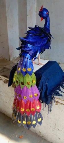 Paper Bird Sculpture, Usage: Interior Decor, Exterior Decor