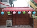 Outdoor shop awnings