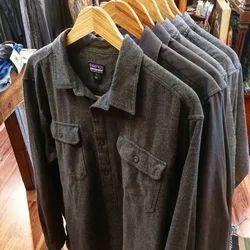 Aeri collection Collar Neck Mens Denim Shirt