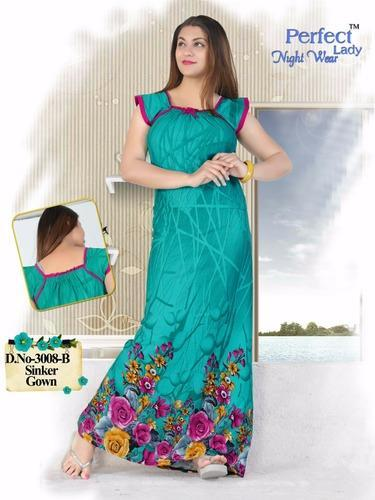 e3fa8c5f38 Sinker Night Gown at Rs 280 /piece   Nightgowns   ID: 14856020512