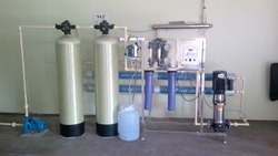 1000 LPH Industrial Water Filter Plant
