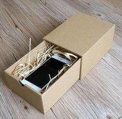 Mobile Cardboard Packaging Box