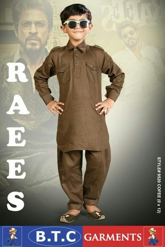 Boys 6 Colours Children Pathani Suit