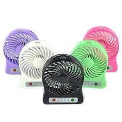 Mini Portable USB Rechargeable High Power 3-Speed Fan