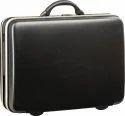 Vip Titanium Suitcase 70 Jet Black Luggage Bag