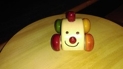Wood Color Wooden Car Toy, For Personal