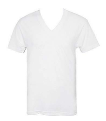 V Neck Cotton T Shirt