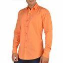 Mens Plain Cotton Shirt