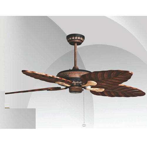 fan ceiling palm wood direction singapore leaf stove for above