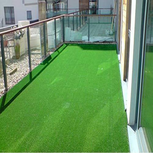 Pe Straight Balcony Artificial Grass For Home Rs 50