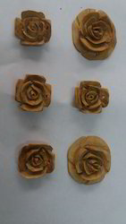 Sandalwood Rose Pendants