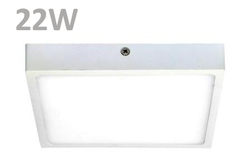 Marvelo 22w Square Surface LED Panel Light- Slim & Sleek