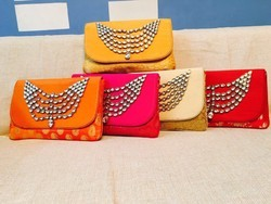 Evening Kundan Work Clutches
