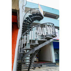 Steel Bean Staircase