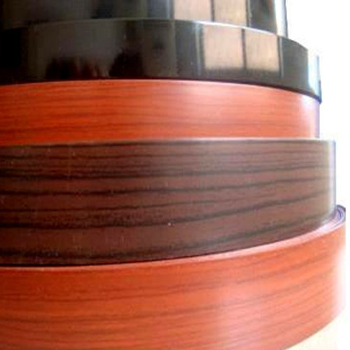 Blue Wood, Pvc Wood Grain PVC Edge Tape, Packaging Type: In Rolls