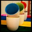 Ceramic Inner Colored Coffee Mug, Packaging Type: Box, 90-180 Ml