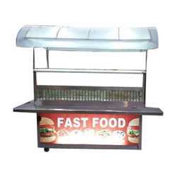 Steel Fast Food Catering Stall