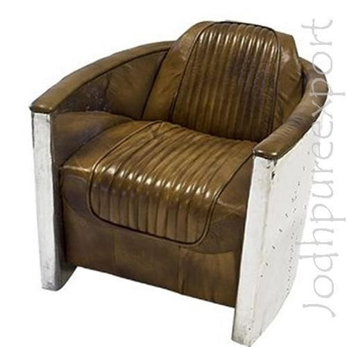 design panelled in european chair aluminium aviator leather egg and