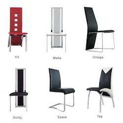 Msr Metal Dining Chair, For Hotel, Set Size: Single