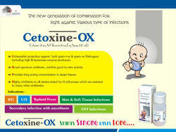 Cefixime Trihydrate 50mg Ofloxacin 50mg/5ml