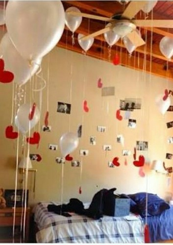 Bedroom Balloon Decoration Service in Ripon Street, Kolkata, Mahan ...