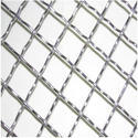 Ss Silver Crimped Wire Mesh, For Industrial, Domestic, Material Grade: Ss304