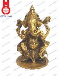Golden Ganesh Statue