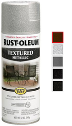 Rust Oleum Stops Rust Textured Metallic Spray