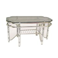 Designer Stainless Steel Table