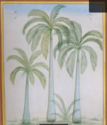 Group Palm Trees Painting