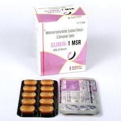 Glimipride 1 Mg Metformin 500 Mg Tablets