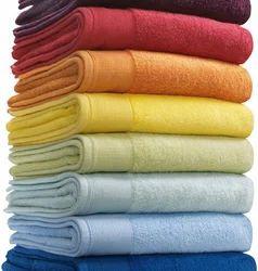 Multicolor Plain Spa Cotton Terry Towel, 250-350 GSM, Size: 28
