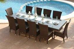 Garden Wicker Dining Sets