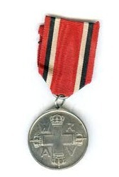 Silver Iron Medal, Shape: Round, for Award Ceremony