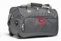 Grey Duffel Trolley Bag