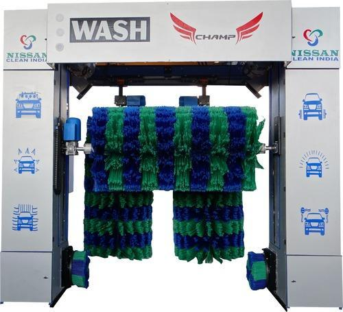 Roll Over Car Wash System Wash Champ Exporter From Ahmedabad