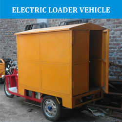 Electric Loader Vehicle