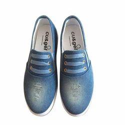 Ladies Designer Canvas Shoes