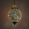 Deshilp Overseas Acc To Standard Mosaic Hanging Light