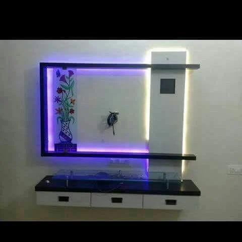 Pvc Tv Cabinet Plastiv Tv Cabinet प व स ट व क
